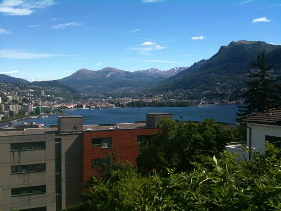 Start of Real Honeymoon - Lugano CH