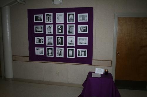 Photo Meditation Wall